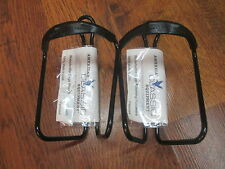 NOS VINTAGE ULTRALIGHT AMERICAN CLASSIC EQUIPMENT WATER BOTTLE CAGE SET BLK
