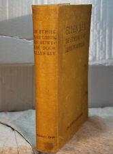 antique old Dutch book ELLEN KEY DE ETHIEK VAN LIEFDE EN HUWELIKJ Amsterdam