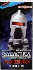 CYLON CENTURION Battlestar Galactica 35th Anniversary Bobble Head Lights Sounds