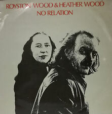 "ROYSTON WOOD AND HEATHER WOOD - NO RELATION LP 12"" PROMO SPAIN 1978 GOOD CONDITI"