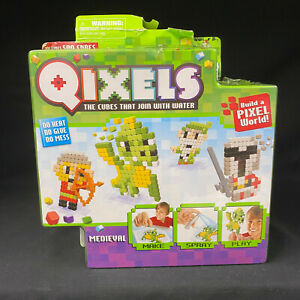 Qixels Medieval 500 Cubes Refill by Moose Toys NEW in Box