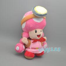 "Toadette 8"" Treasure Tracker Plush Doll Stuffed Toy  #SM"