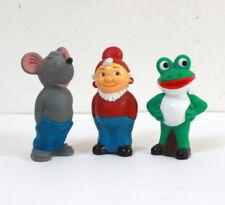 Lot de 3 Jouets couineurs pouets publicitaires Salamander