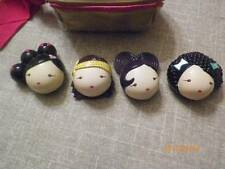NEW/USED 4-PC WITH BAG HARAJUKU LOVERS SOLID PERFUME.TWO NEW &TWO USED