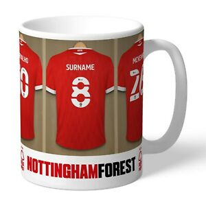 Nottingham Forest Mug - Personalised Football Gift for Birthdays & Occasions