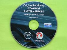 NAVIGATION OPEL CD 60 NAVI CD 80 NAVI OSTEUROPA + EU 2014 CD60 ANTARA CORSA D
