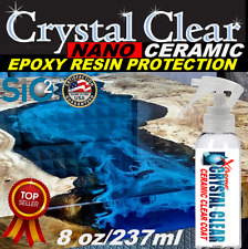EPOXY RESIN RIVER TABLES SI02 CLEAR CERAMIC SEALANT PROTECTS FROM SCRATCHES