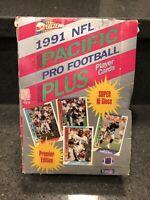 1991 NFL Pacific Pro Football Plus Factory Hobby Wax Box Brett Favre PSA 10???