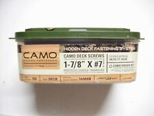 """Camo Deck Screws 1-7/8"""" X #7 Coated 350 Count With Drill-bit 345128 100 Sq. Ft."""