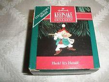 1991 Hallmark Christmas Ornament, #3 In The Series Hark! It'S Herald ~T2321