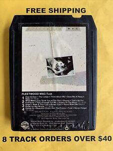 Fleetwood Mac Tusk 8 track tape tested