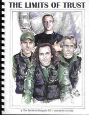 "Stargate SG1 Sentinel Fanzine ""The Limits of Trust"" GEN Novel"