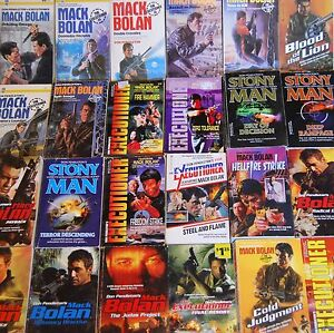 Mack Bolan Executioner Stony Man Phoenix Force Able Team *****SINGLE BOOKS*****