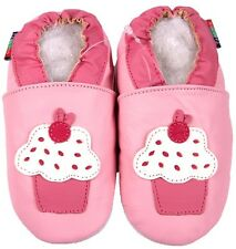 shoeszoo cupcake pink 2-3y S soft sole leather toddler shoes