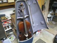 Vintage Estate Found 4/4 Sized Cello w/ Modern Travel Case