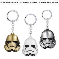 Star Wars Storm Trooper Darth Vader Mask Soldiers Keychain Keyring Keyfob