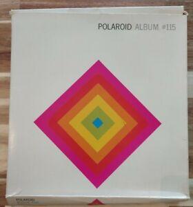 VINTAGE POLAROID PHOTO ALBUM #115 SX-70 HOLDS 56 PICS UNUSED W/BOX!