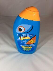 L'Oreal Kids Extra Gentle No Tears 2-in-1 Swim & Sport Shampoo Sunny Orange 9 oz