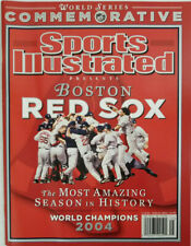 Boston Red Sox World Series Championship Sports Illustrated November 2004