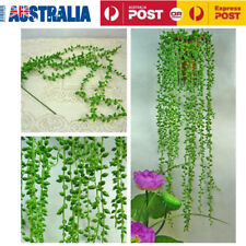 2X Artificial Fake String Leaves Ivy Vine Plants Hanging Garland Flower Decor AU