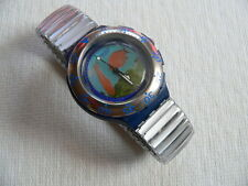 1994 Scuba 200 Swatch Watch Decompression SDN112 New
