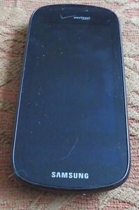 READ 1ST@@@@ Samsung Continuum SCH I400 Verizon Cell Phone Black Excellent Used