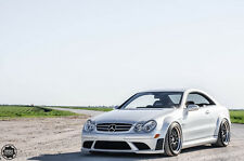 Mercedes Benz CLK W209 C63 Black Series Body Kit Tuning