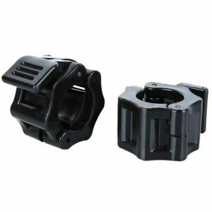 1Pair Barbell Clamps 25MM Dumbbells Collars Lock Fitness Gym Plastic Buckle