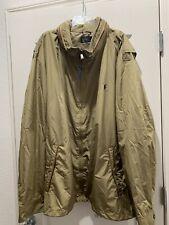 Ralph Lauren Polo Full Zip Small  Pony Rain Jacket Hoodie 6XB 6X BIG