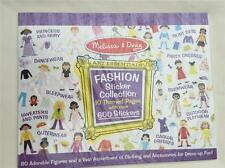 Fashion Sticker Collection 4190 Melissa & Doug Sticker Book Collection