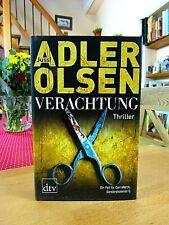 """Jussi Adler Olsen   """"Verachtung""""   gebundene Ausgabe, 1. Auflage 2012"""