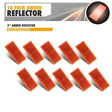 Towing Trailers Grand General 99560 Amber Oblong Stick-On Reflector Trucks RVs and Buses 1 Pack
