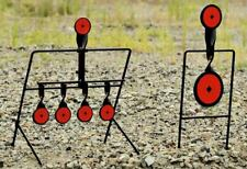 Steel Auto Reset and Spinner Shooting Targets - Two Targets - NEW FreeShip