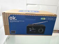 NEUER Radiowecker OVP von ok. mit Bluetooth und Induktionsladen Wecker