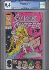 Silver Surfer V3 #1 CGC 9.4 1987 Marvel Origin Issue Retold Nova Fantastic 4 App