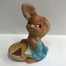 """Vintage Pendelfin """"Pieface"""" Bunny Rabbit"""
