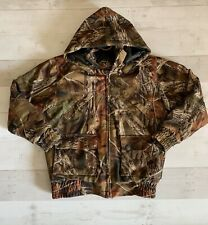 Trail Crest Insulated Camo Coat With Snap Off Hood Kids Size S