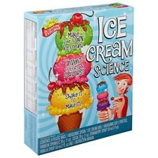 Kids Ice Cream Science Kit Learn Educational Stem Experiments Gift Boy Girl New