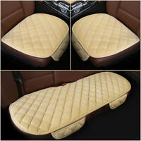 3pcs Universal Car Auto Seat Cover Warm Plush Cushion Pad Mat Winter 7 Colors