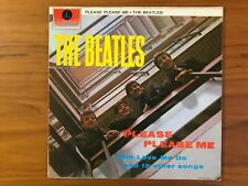 THE BEATLES - PLEASE PLEASE ME LP 1969 RE-PRESSING PCS 3042 STEREO