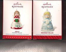 Hallmark Ornament Series Heavenly Bells #2 #3 2014 2015 Lot