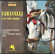 CARAVELLI - Les guitares du diable - France EP 45 tours