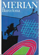 Merian Barcelona März 1992/ Heft 3/ 45. Jahrgang Javier Mariscal Liceu-Opernhaus