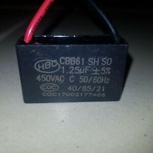 Square Capacitor 1.25mfd 1.25uF