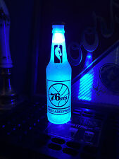 NBA Philadelphia 76ers Basketball 12oz Beer Bottle Light LED Bar Man Cave