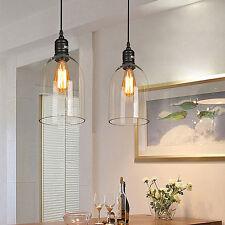Modern Chandelier Glass Pendant Lighting Vintage Ceiling Lamp Dinning Room Light