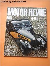 Motor Revue Nr. 60 1966 4/66 Porsche 911 S BMW 2000 CS