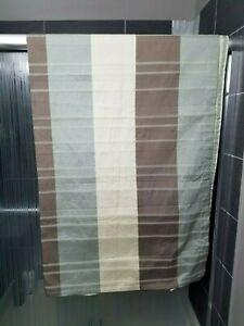 "Croscill Fabric Shower Curtain Color Block Textured 72x72"""