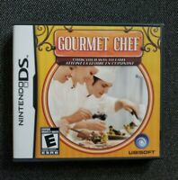 Nintendo DS Gourmet Chef 2008 COMPLETE (Game, Manual, Case)
