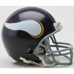 Minnesota Vikings 1961-1979 61-79 Throwback VSR Riddell Football Mini Helmet New